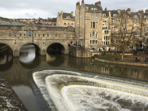 Pulteney Bridge, Bath, Somerset | Canvas Print ...