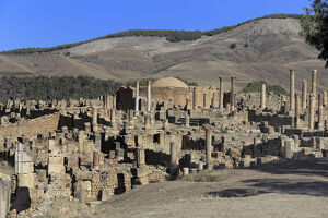 new/20191004 jai 1/ruins ancient city cuicul djemila setif province