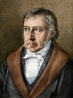 literature theater/georg wilhelm friedrich hegel digitally colored