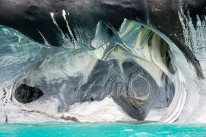 earth/marble caves northern patagonia