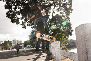 sport/skate/malagasy skaters ride boards streets may 31 2015
