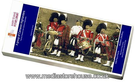 Jigsaw Puzzle of A group of Cameron Highlanders #14127099