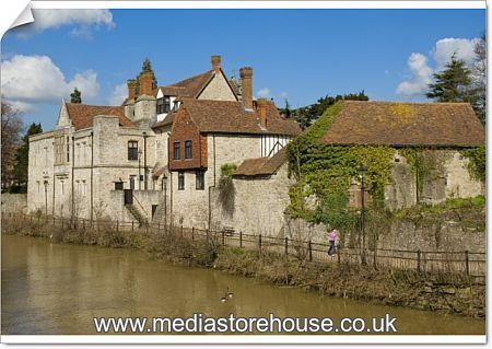 Aecb Kent Group September Events Including Popular: Poster Print Of Bishops Palace, Maidstone, Kent, England