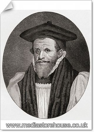 Rick Bancroft Professional Makeup Artist: Poster Print Of Archbishop Richard Bancroft, 1544 To 1610
