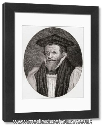 Rick Bancroft Professional Makeup Artist: Framed Print Of Archbishop Richard Bancroft, 1544 To 1610