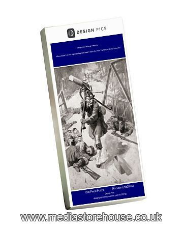 Jigsaw Puzzle of A Brave Soldier From The Highlander ...