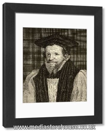 Rick Bancroft Professional Makeup Artist: Framed Print Of Richard Bancroft, 1544 -1610. Archbishop